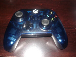 Xbox One Wired Blue Controller