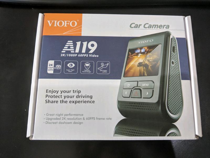 VIOFO A119 V2 Dashcam FHD 2K 1440P Car Dash Camera Recorder