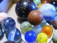 Playing Marbles, mini, small, medium and large size