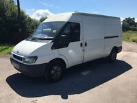 Ford transit Lwb 135 Bhp 6 speed 2.4 Rwd 2006 55 Reg