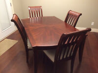 Dining Rm Table Set