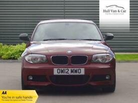 2012 12 BMW 1 SERIES 2.0 123D SPORT PLUS EDITION 2D AUTO 202 BHP DIESEL