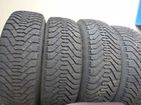 215-65-16 WINTER TIRES AND RIMS