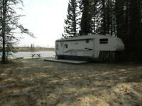 Instant waterfront camp in Amesdale, Dryden