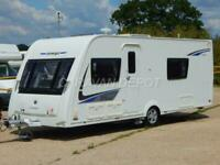 COMPASS OMEGA 574, 2014, 4 BERTH, FIXED SINGLE BEDS, END WASHROOM, MOTOR MOVERS!