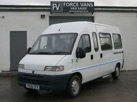 FIAT DUCATO MINIBUS CREW BUS VAN WELFARE DELIVERY COMBI COACH BAND TRANSPORT