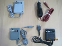 Brand New Chargers - For GBA Sp / Ds Lite / Dsi / Dsi XL / 3DS