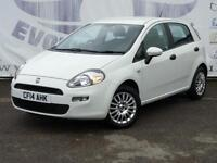 2014 FIAT PUNTO 1.2 POP 5 DOOR LOW MIEAGE LOW INSURANCE IDEAL FIRST CAR HATCHBAC