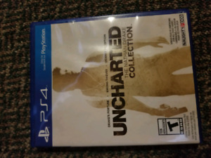 Uncharted part 1to3 for Ps4