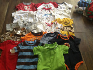 3-6 months boys lot with over 140 items