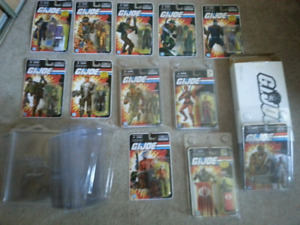Gi joe exclusive action figures rare!!!