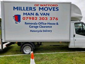 ✅✅LOW COST✅✅ REMOVALS MAN&VAN millers moves of watford