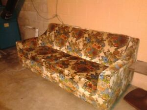 Sofa bed for pick up