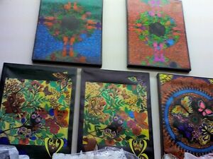 Original Paintings in HEARTBEAT Thrift Store, BayView Mall