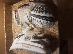 Vaughn V5 Intermediate goalie gloves