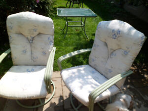 Two person patio set-     Reduced price!!!