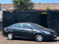 * 2010 TOYOTA AVENSIS 1.8 V-MATIC + LOW 59K MILES + SATNAV + ALLOYS +