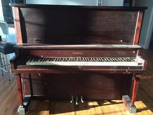 FREE UPRIGHT PIANO!