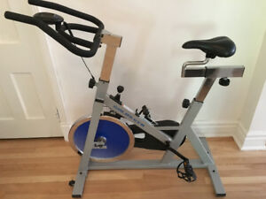 Gold's Gym Spinning Bike!! Barely Used!!!