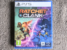 PS5 New Ratchet & Clank Rift Apart Playstation 5 Family Kid Game Games