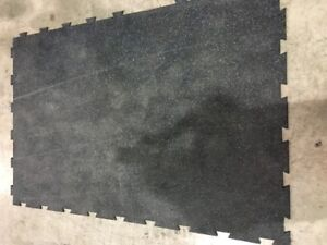 Used Gym Flooring Tiles For Sale!