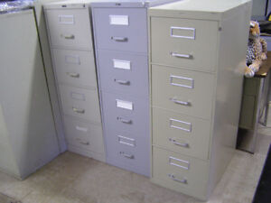 4 Drawer Legal Size File Cabinets