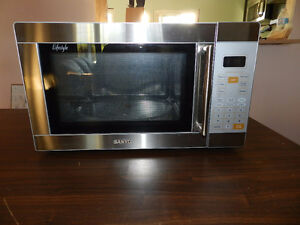 Sanyo Stainess Steel Microwave