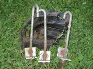 Kit ensemble de 4 brackets pour attacher un camper sur un camion