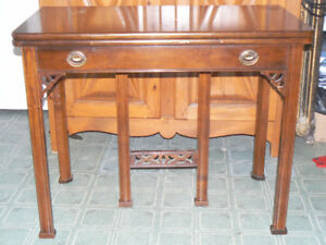 Vintage Extendable game/console Table