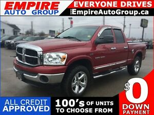 2007 DODGE RAM PICKUP 1500 SLT * 4WD * EXTRA CLEAN INSIDE & OUT
