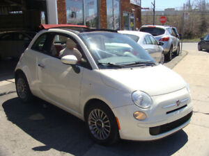 2012 Fiat 500C Cabriolet 124 000 Km A/C