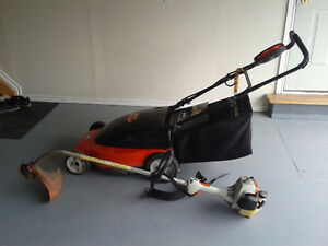 Cordless Lawn Mower Excellent Condition  ($40.00)