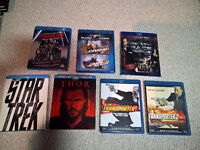 Action movies on blu-ray!!