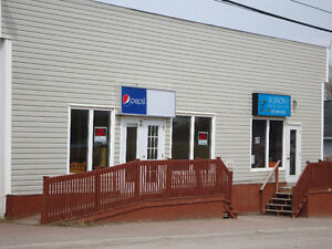 Commercial building for rent in prime Deer Lake location