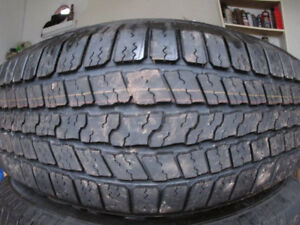 one 255/75/ 17 in. tire