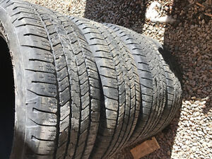 "275-55R 20"" Goodyear SRA Tires"