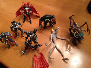 Vintage Spawn action figures from the 90's $15 EACH