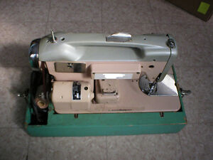 MACHINE A COUDRE PORTATIVE PORTABLE SEWING MACHINE VINTAGE