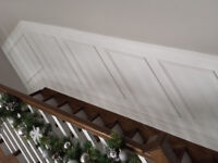 Do you need any Wainscotting or trim work done?