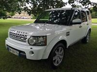 2011 LHD Land Rover Discovery 4 3.0SDV6 (242bhp) 4X4 Automatic Left hand drive