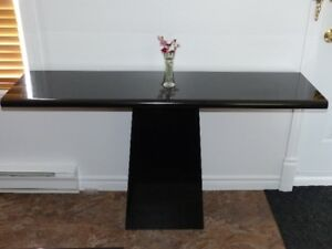 Table basse de salon + Table d'appoint (table console)