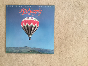 Air Supply The One That You Love 33 1/3 RPM vinyl LP
