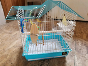 Cage for a small birds