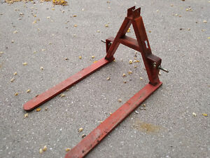 "3 point hitch 42"" fork attachment"