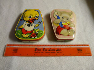 Vintage Candy Tins + Ruler Kawartha Lakes Peterborough Area image 1
