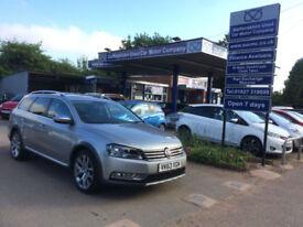 2013 63 Volkswagen Passat 2.0TDI (177ps) B/Motion Tech DSG Alltrack 70,000miles