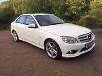 Mercedes C220CDI Sport with AMG pack