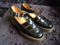 Black office school /work shoes size 4