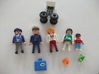 Playmobil airline figurines