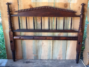 Antique rope frame bed